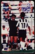 10m Dallas Cup Soccer Xvi Striped Shirt American Airlines Proof Phone Card
