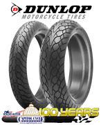 Dunlop Mutant Crossover Tire Set 120/70-17 180/55-17 Front And Rear - 2 Tires