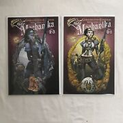 Aspen Comics Joe Benitez's Collected Edition Lady Mechanika 0and1 + 2and3 Vf+ / Nm