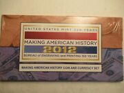 2012 Coin And Currency Set Making American History 2012 S Proof Sae + 2009 5