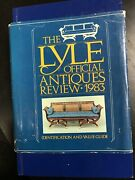 The Lyle Official Antiques Review 1983, Identification And Value Guide Hardback