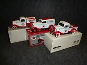 Texaco 1934 And 1935 Ford Tanker Pickup Truck And Delivery Van - Lot Of 3 Items