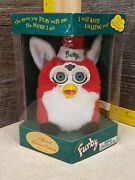 Genuine New In Bx Electronic Furby Special Limited Edition Santa 1999 Christmas