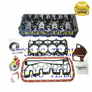 4le1 Cylinder Head Aassy With Engine Gasket Fit Snow Remover Excavator Generator