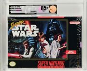 Super Star Wars Snes Graded And Sealed 85+ Near Mint