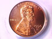 1996 D Lincoln Memorial Cent Penny Pcgs Ms 68 Rd 73264766