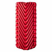 Klymit Insulated Static V Luxe Sleeping Pad Extra Wide 30 Inches Maximum Comf...