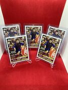 Topps Lionel Messi Lost Rookie Card 2004/05 Fc Barcelona Lot Of 5