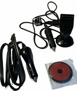 Genuine Garmin Nuvi 760 Gps Mount + Car Charger + Gtm25 Gps Charge Cable + Disk