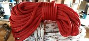 1/2 X 50 Ft. Double Braid-yacht Braid Polyester Rope.red. Made In Usa