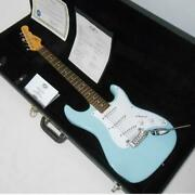 G And L Legacy Sky Blue Dot Inlays Electric Guitar With Hard Case S/n Cl076332
