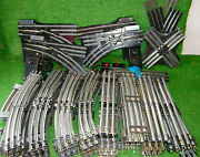 Lionel O Scale Train Track And Switches No. 022 Lot 88 Total Pieces Ex Condition