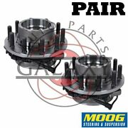 Moog New Replacement Front Wheel Hub Bearings Pair For F-450 F-550 Super Duty
