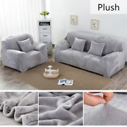 Sofa Cover Sectional Slipcover 1/2/3/4 Seater Stretch Cover Living Room Bedroom