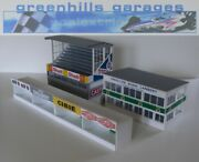 Greenhills Scalextric Slot Car Buildings Reims Starter Pack Kit 143 Scale - ...