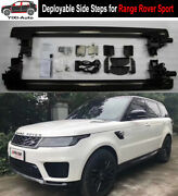 Deployable Electric Running Board Side Step Fit For Lr Range Rover Sport 2018-21