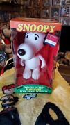 Vintage 1958 Peanuts Snoopy Doll 7 Hard Plastic With Original Clothes And Box 🔥