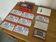Awesome Boxed Nintendo Game And Watch Ball Re-issue Lcd Electronic Game - Mint/a++
