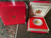 2000 Canadian Mint 15 Silver Proof Coin - Lunar New Year Dragon