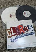 Clerks Soundtrack Rare Limited X/500 Black And White 2 Lp Set Signed Jay Mewes