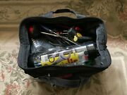 Craftsman 13 Inch Tool Bag Full Of Small Hand Tools 3 Side Pockets
