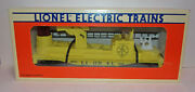 Vintage 1990's Lionel Nice 6-16660 Yellow Operating Fire Ladder Car W/box