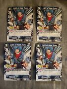 Dragon Ball Super Card Game Tcg Ccg Light Of Hope Trunks Puzzle Hunt X4
