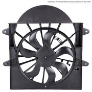 For Audi A4 A5 Allroad Q5 S5 Cooling Fan Assembly W/ Control Module Csw