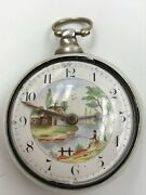 Baly, London - A George Iv Silver Pair Cased Pocket Watch Circa 1820