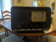 Vintage 1940and039s Philco Model 48-700 7 Table Top Tv Global Shipping