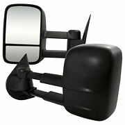 Towing Mirrors For 2007-2010 Chevy Silverado [power/heated] Premium Fx