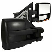 Towing Mirrors For 2007-2008 Ford F-150 [power/heated] Premium Fx