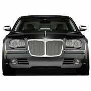 Top Bezeled Replacement Grille For 2005-10 Chrysler 300/300c [chrome] Premium Fx