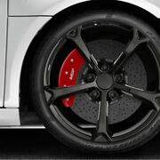 Front And Rear Red Caliper Covers W/mgp For 2018-2021 Hyundai Kona W/11and039 Rotors