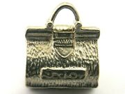 Doctor's Gladstone Bag Vintage Sterling Silver Charm Opens To A Reveal Baby