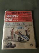 Sports Car Graphic Magazine Carroll Shelby 1st Article Cobra Very Rare May 1962