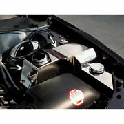 Water Tank/power Steering Cover For 2005-2010 Charger/magnum/300 Srt8 [polished]