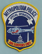 District Of Columbia Police Helicopter Air Unit Patch