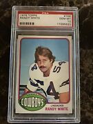 1976 Topps Randy White Psa 10 Gem Mint Rookie Rc Dallas Cowboys Hall Of Fame