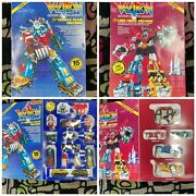 1984 Matchbox Voltron And Dairuggrr Original Boxes Great Condition
