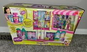 Polly Pocket Mega Mall 10 Stores 3 Floors 60+ Pieces Brand New In Box Huge