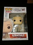 Funko Pop Television Good Omens Aziraphale 1077 Non-chase With Book -unopened