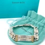Used Authentic Vintage And Co. Atlas Combination Bracelet Sv925 Silver