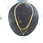 An Unusualy Large Antique Nine Carat Long Guard Chain.