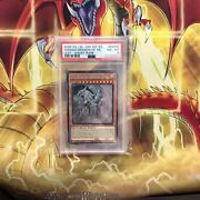 Yu-gi-oh Card Psa8 Mint The Winged Dragon Of Ra English Ver Holographic Ghost