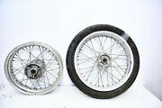 Bmw F650gs 2001 2007 Front And Rear Wheel Spoked Rims 17 And 19 /cafe Racer