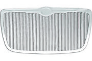 Vertical Replacement Grille Fits 2005-10 Chrysler 300c [chrome Steel] Premium Fx