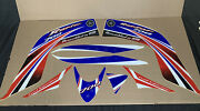 Yamaha Raptor 700 Stickers Oem Blue Graphics Decals Atv-1as25-00-04 New A-9