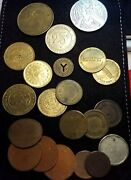 Lots Of No Cash Value Game Musement Ny Transit Pokemon Coins And Tokens