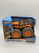 New Hot Wheels 2020 Loco Punk Wrecking Wheels Monster Trucks Collectible Toy